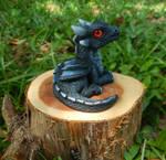 Black Eathen Fire Dragon