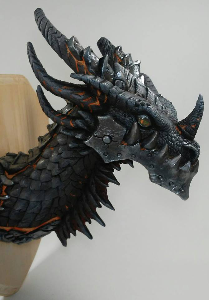 Deathwing Trophy by DragonCid