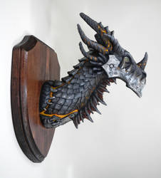Deathwing Trophy Finished by DragonCid