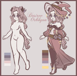 .:- MINI Reference - Desiree Orbhyon Clairvoya -:. by xElected-Heartx