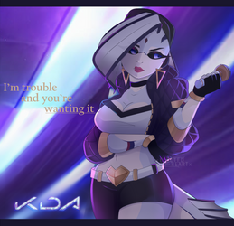 .:- Diane - KDA Cosplay -:. by xElected-Heartx