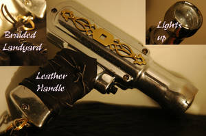 Steampunk Gun by MoonMisery