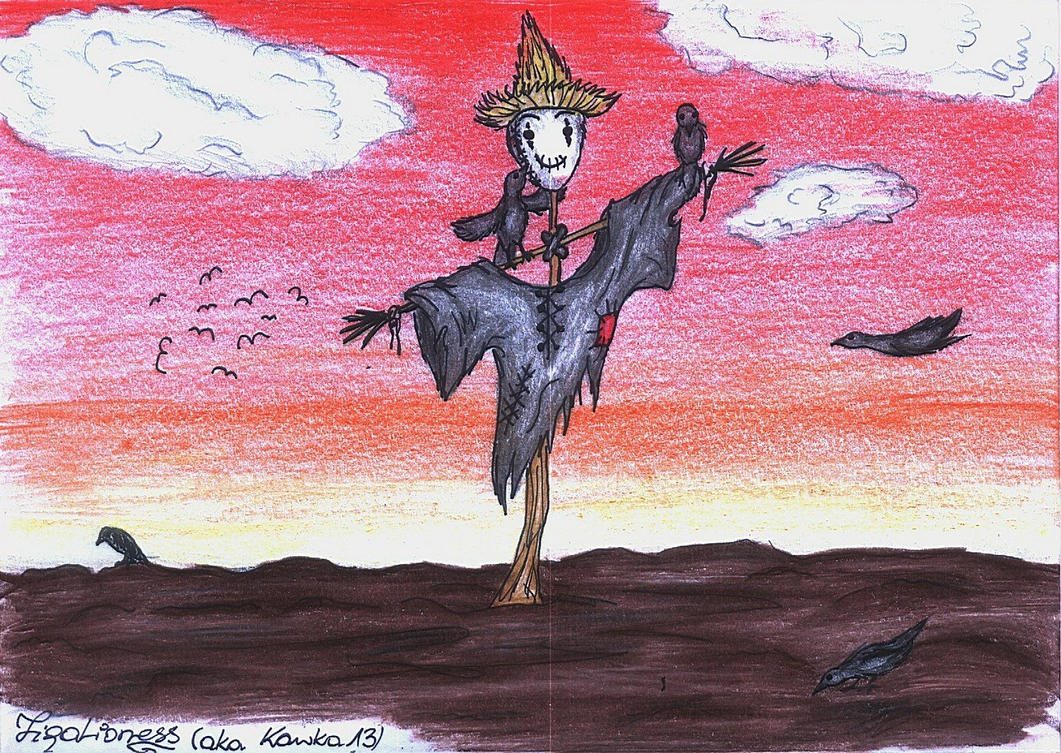 The Scarecrow by TigaLioness