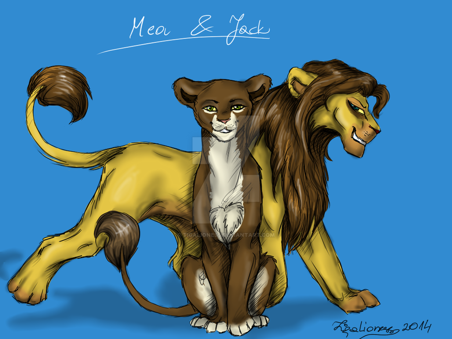 Mea and Jack for Truskawka14 [PC] by TigaLioness