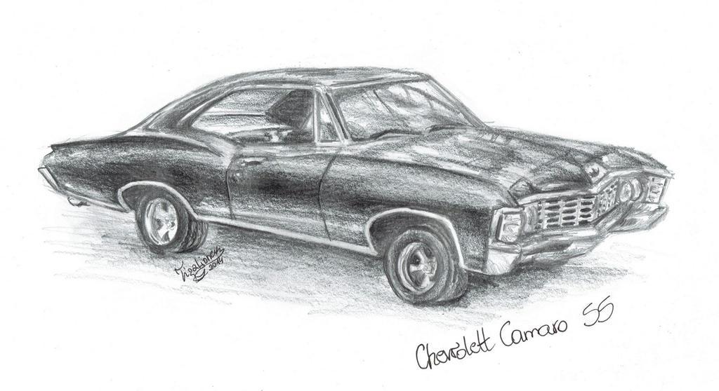 Chevrolett Camaro SS by TigaLioness