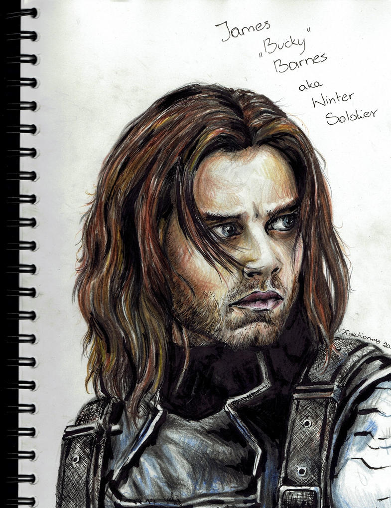 Bucky Barnes - The Winter Soldier by TigaLioness