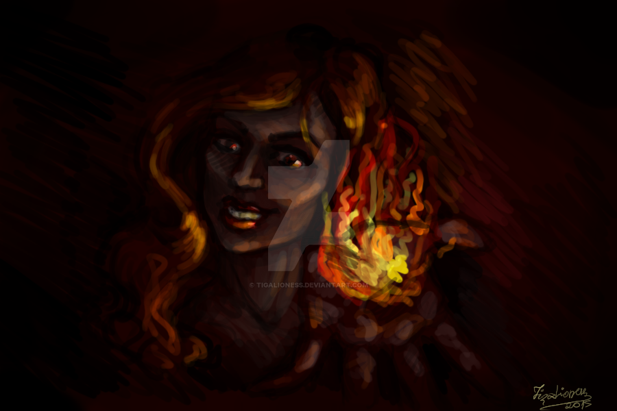 Fire Within by TigaLioness
