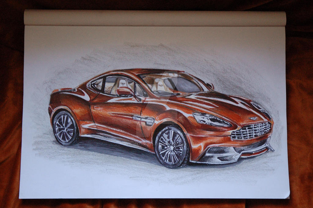 Aston Martin Vanquish by TigaLioness