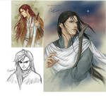 Feanor, Maedhros and Maglor