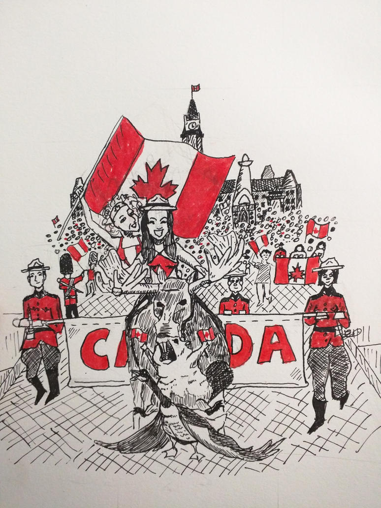 Canada Day by brentgarrison