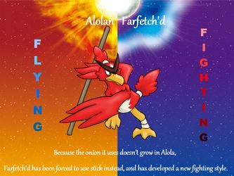 Alolan Farfetch'd by Orbelune