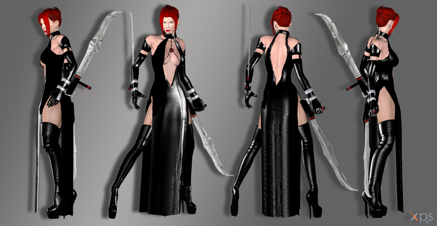 Rayne dress Next Gen DL by ZayrCroft