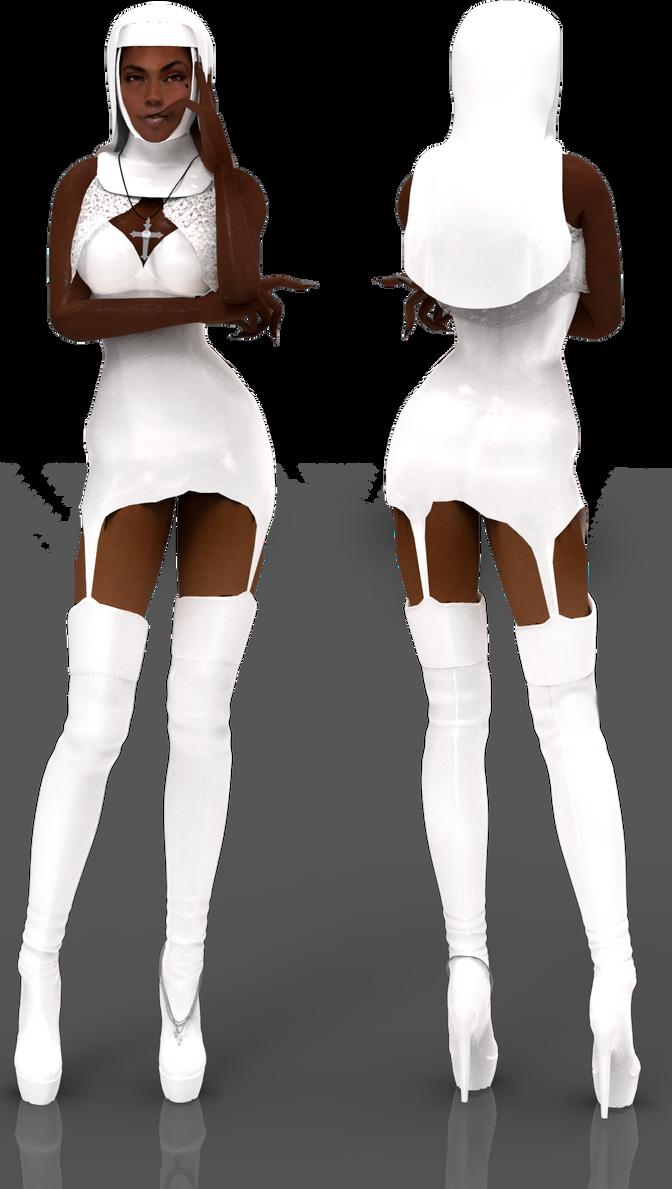 Nun Leader DL by ZayrCroft