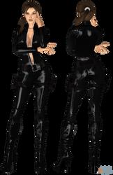 Lara Catsuit WIP by ZayrCroft