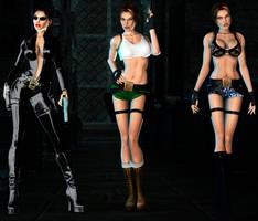 Lara Sexy Pack DL part1 by ZayrCroft