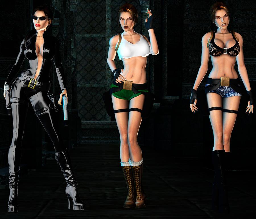 Lara Sexy Pack DL Part1 By ZayrCroft On DeviantArt