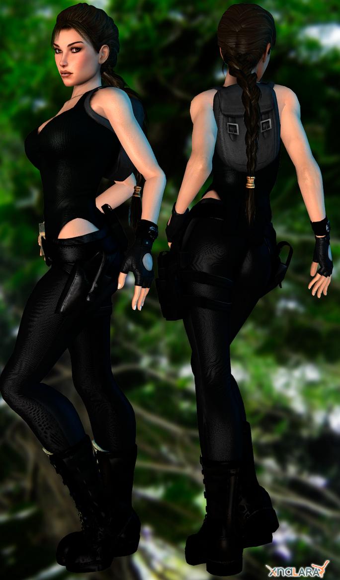 Lara Black Adventures Heavy DL by ZayrCroft