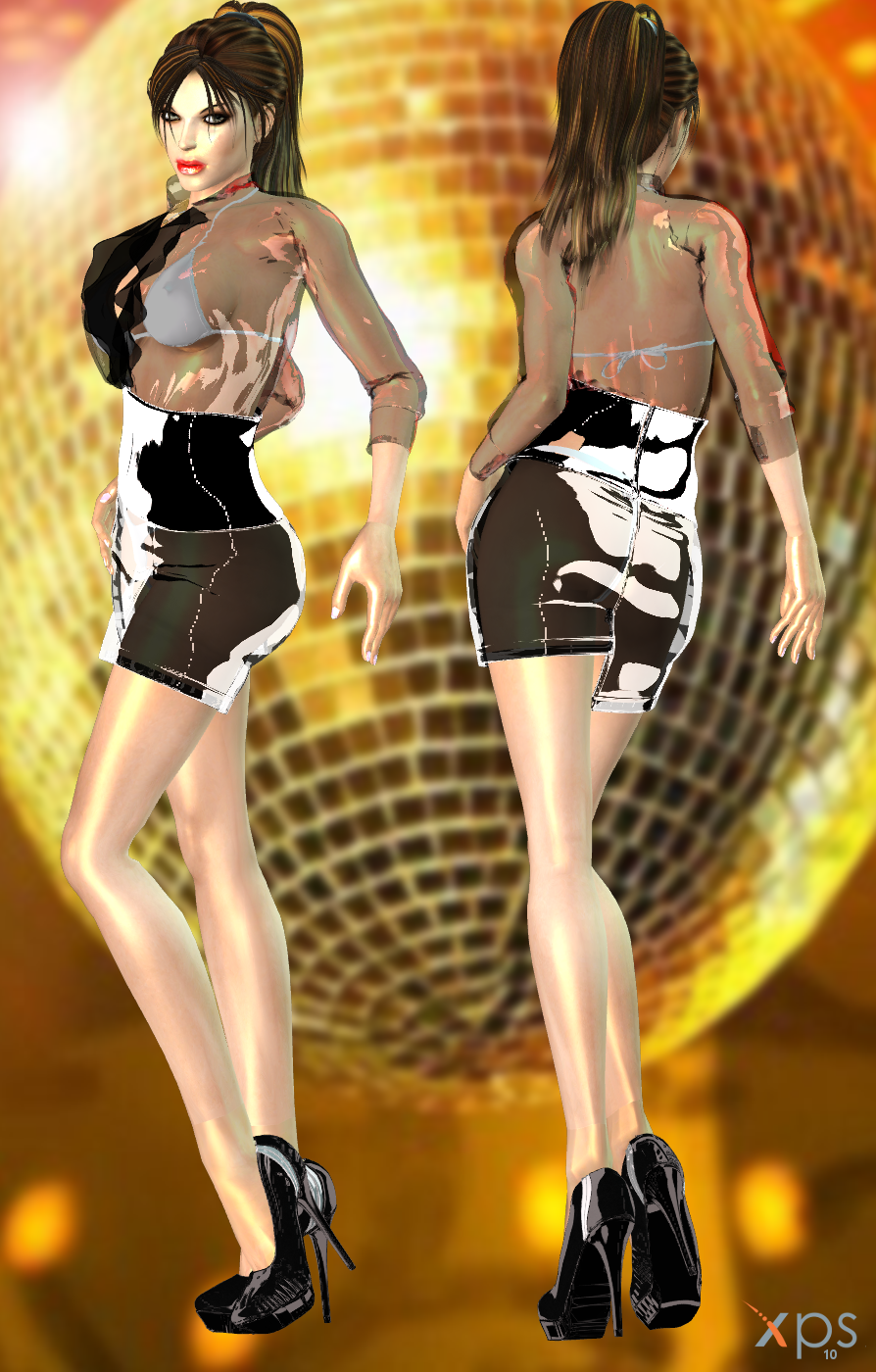 Lara Sexy Dress V.2 DL NEW LINK by ZayrCroft