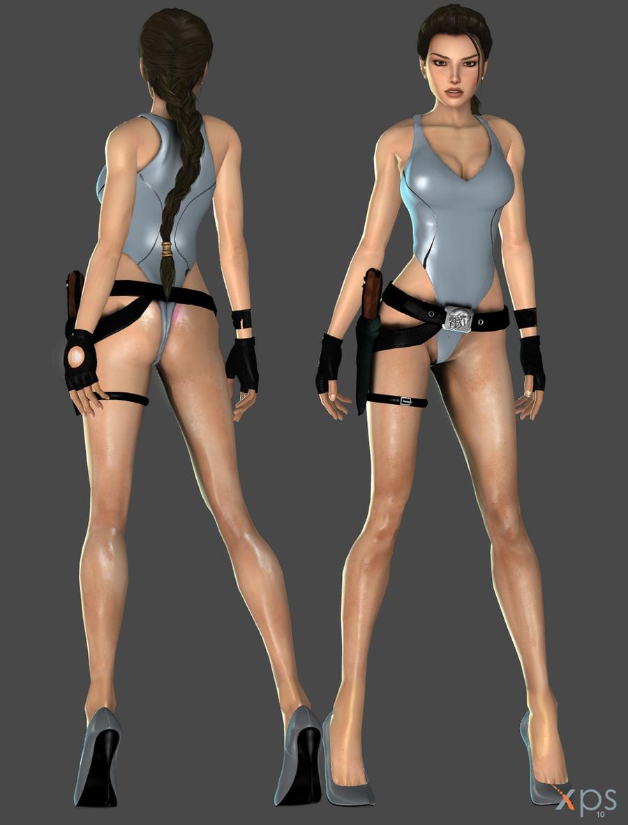 Lara Sexy Batchingsuit WIP by ZayrCroft