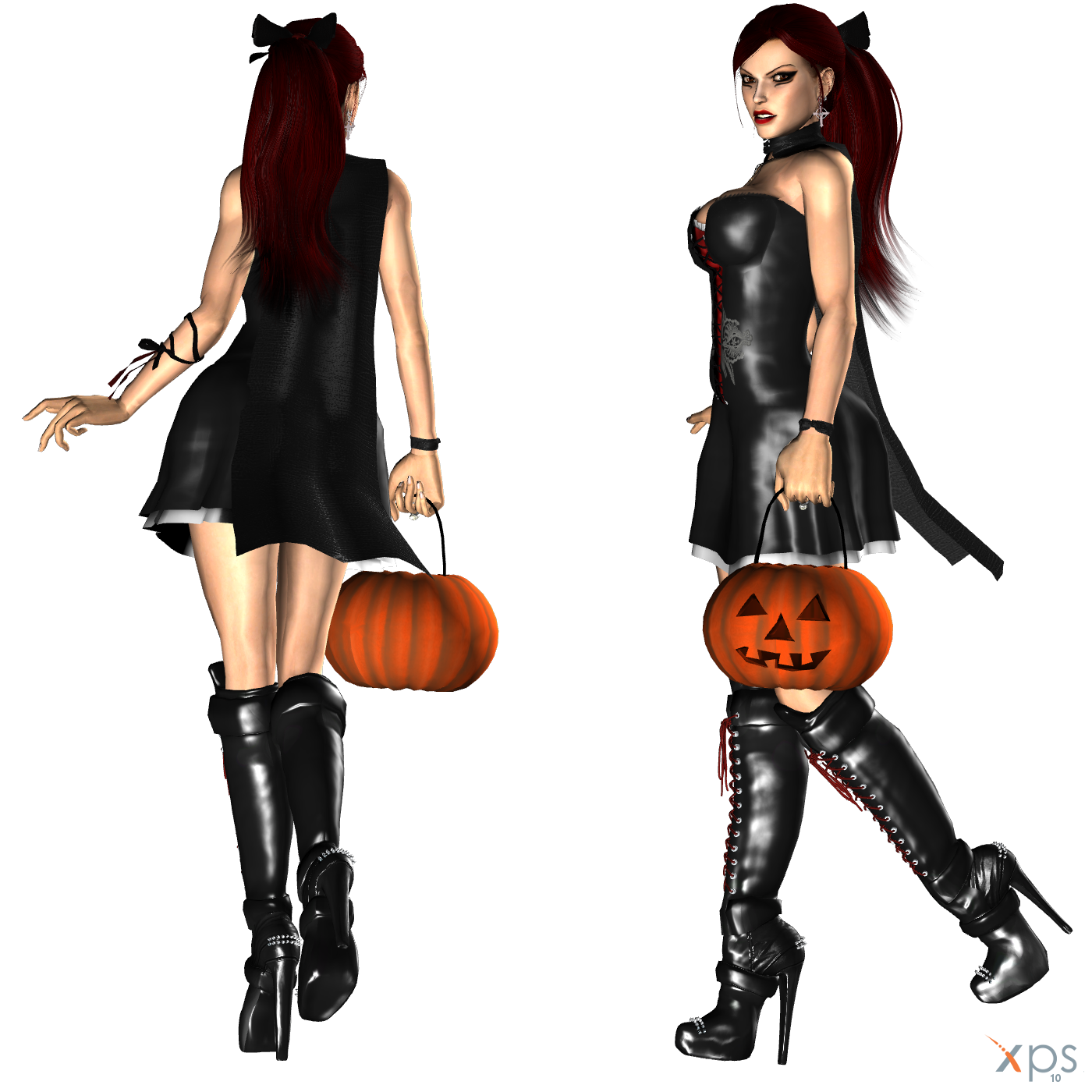Lara Halloween Dress WIP 2 by ZayrCroft