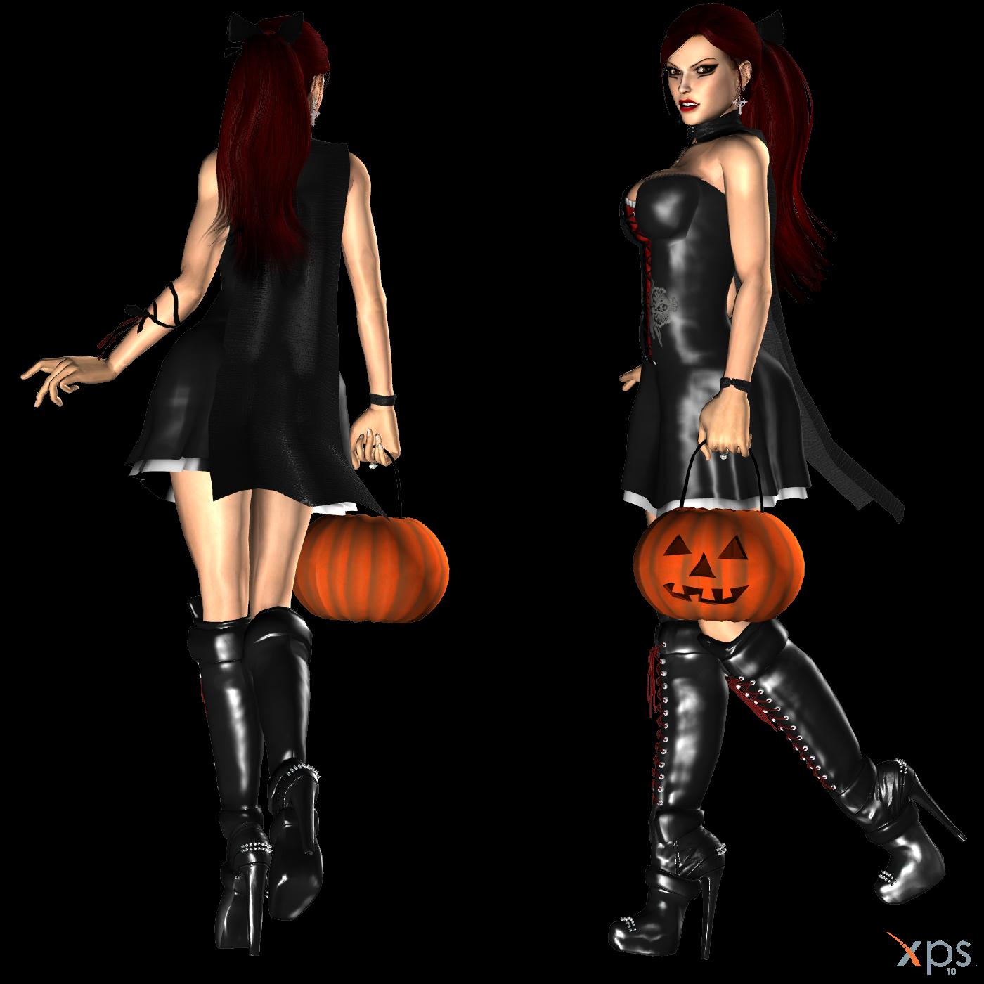 Lara Halloween Dress WIP 2 by ZayrCroft