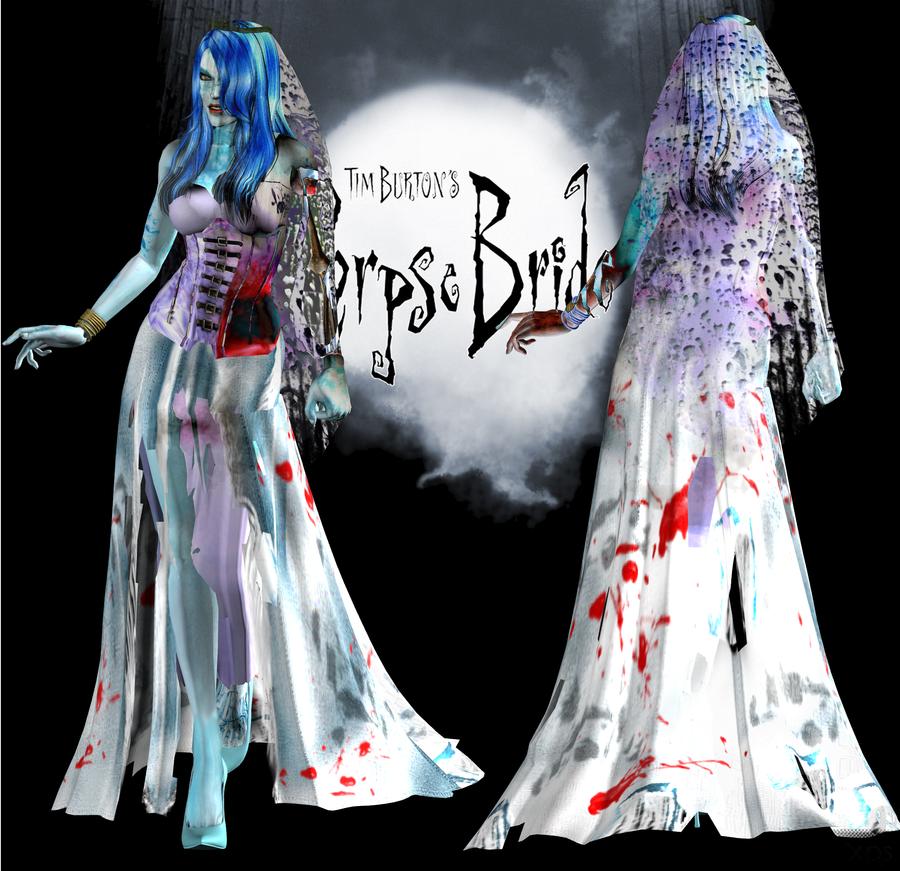 Corpse Bride DL by ZayrCroft