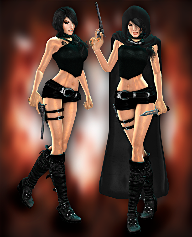 Lara Demon Hunter DL by ZayrCroft