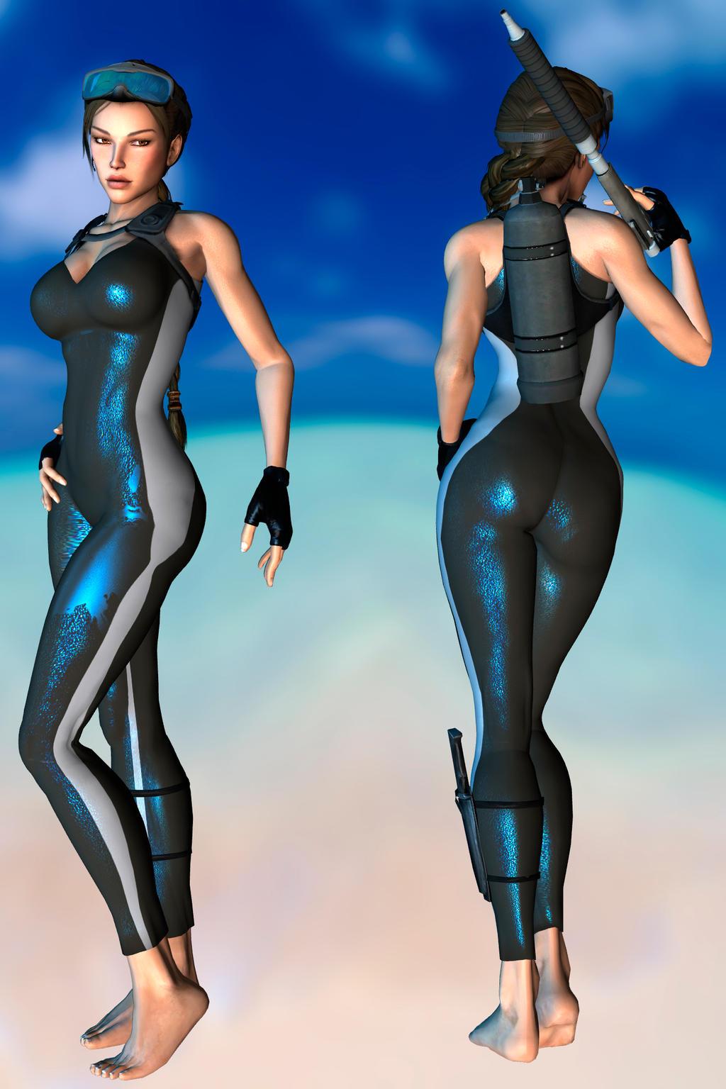 Lara Batchingsuit V 2.0 DL by ZayrCroft
