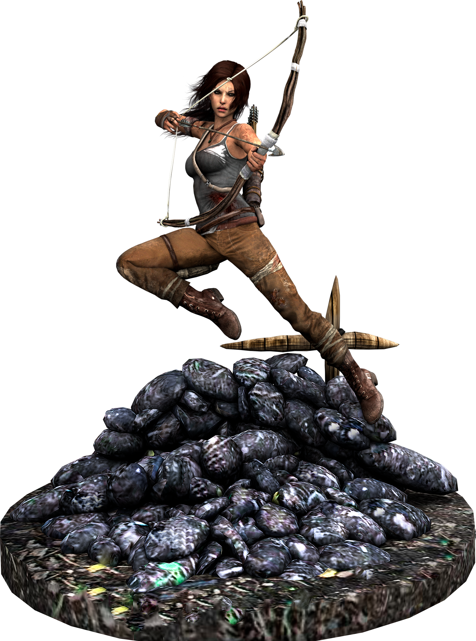 Lara Croft Reborn by ZayrCroft