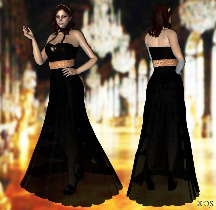 Claire Evening Dress DL by ZayrCroft