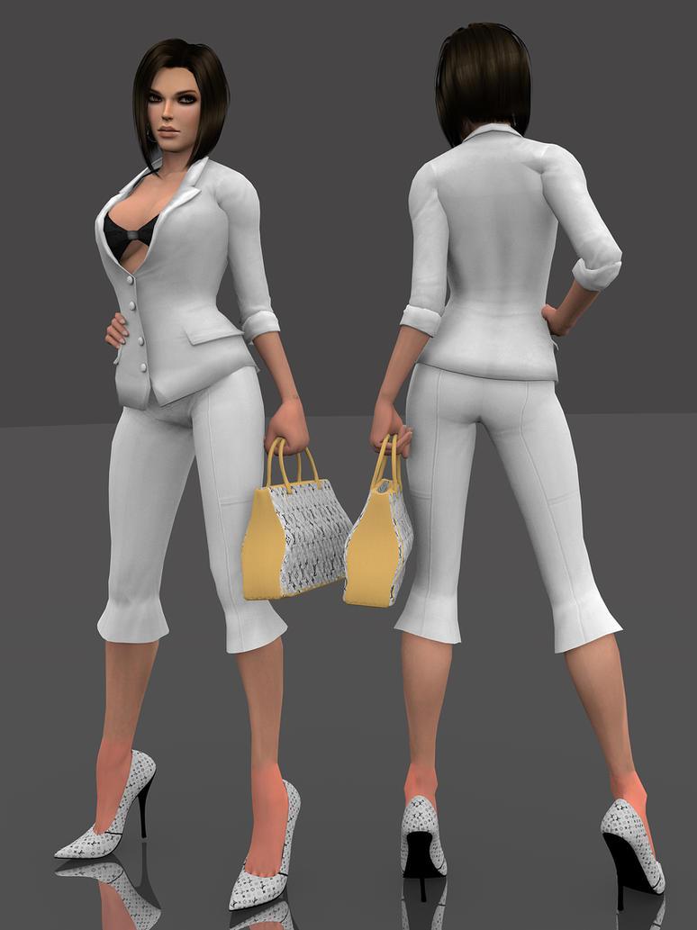 Lara stylish suit DL by ZayrCroft