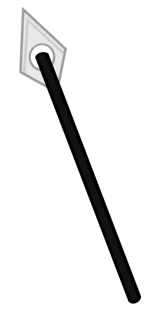 how to draw a spear
