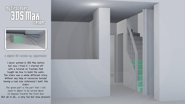 my 3DS Max apartment [WIP]
