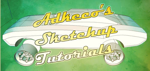 Sketchup Tutorials on YouTube by aconnoll