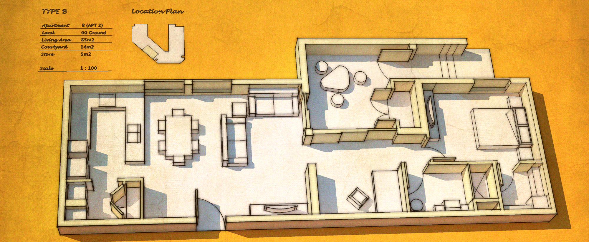 Apartment layout by aconnoll on deviantart for Apartment complex layout