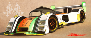 Lemans racer front