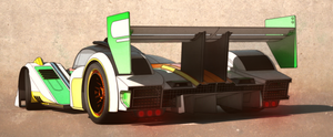 Lemans racer rear