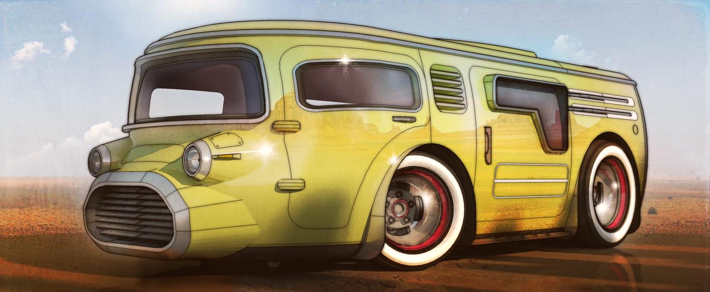 Desert Van by aconnoll