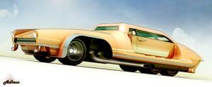 6 Wheeled coupe