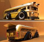 Ridikulouslee Kronic Kustom Bus No. 2!