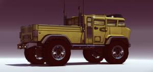 Tuff Truck Bravo (yellow) by aconnoll