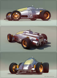 Toy Race Car by aconnoll