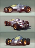 Toy Race Car by aconnoll