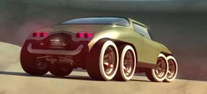 8 wheels of steel (rear)