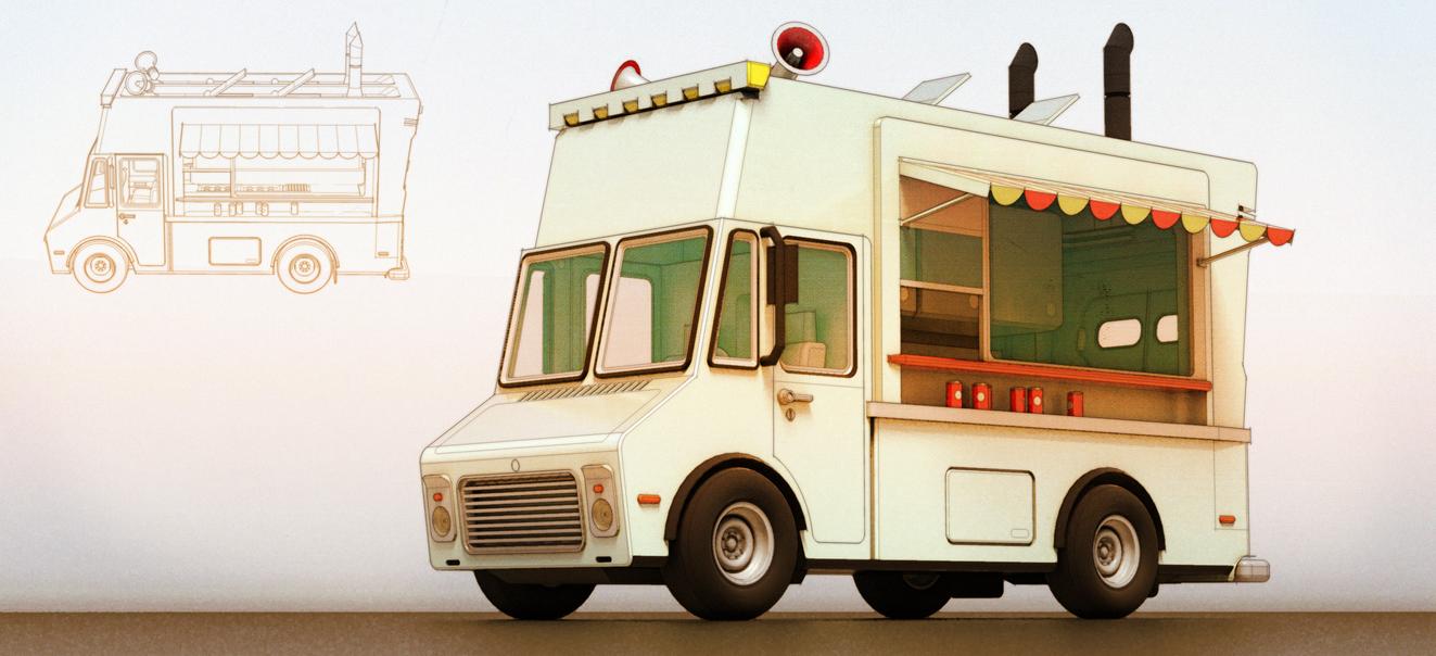 Food Van by aconnoll