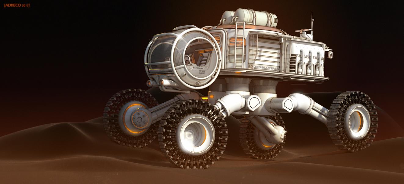 Moon Patrol by aconnoll
