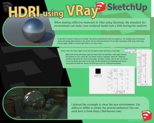 HDRI Tutorial VRay for Sketchup