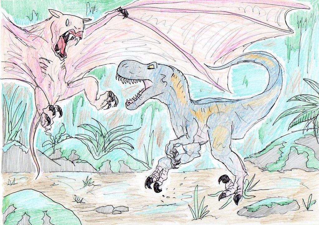 Venatosaurus Vs Terapusmordax By Dinodilopho On Deviantart