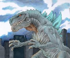 Godzilla 1998 by DinoDilopho