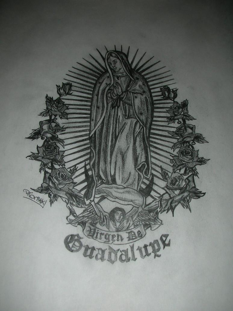 Virgin Mary of Guadalupe by ploniaczysko on DeviantArt
